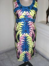 AFRICAN MULTI COLOR SLEEVELESS DRESS