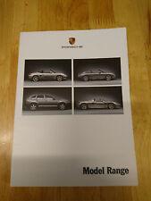 2003 Porsche Range Brochure Inc. Boxster S, 911 GT3, Cayenne Turbo, Carrera GT