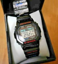 RARE Vintage Casio G-shock Dw-5600 9cv 901 Digital Watch Black Gold