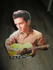 Elvis Presley-PLV d époque et d origine-Grand modèle promotionnel-36 cm-TBE