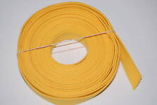 10 YARDS OF USGI WEBBING YELLOW 1 INCH WIDE, REPAIR REPLACE, CREATE STRAPPING