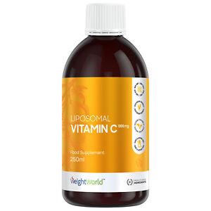 Liposomales Vitamin C 1000mg hochdosiert - Hohe Bioverfügbarkeit - 250ml