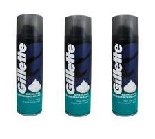 (11EUR/1L.) 3 x Gillette Rasierschaum empfindliche Haut 300 ml