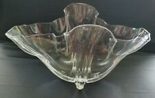 Steuben Handkerchief / Grotesque Vase - Large - Signed Crystal 1920's - 1930's