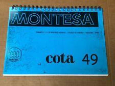 Montesa Cota 49 Kids Trials Reproduction Parts Book A4 Print Twinshock