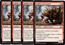4x Goblin Cratermaker -NM- MTG Guilds of Ravnica Red Uncommon