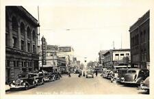 Everett WA Storefronts Old Cars Pacific Hardware Store RPPC Postcard