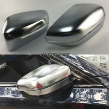 2X ABS Chrome Rear View Mirror Cover Case For BMW 5 7Series G30 G11 G12 2017 18
