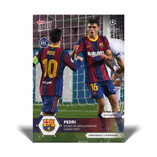 2020 UCL Topps Now UEFA Champions League PEDRI RC Card #5 International Shipping