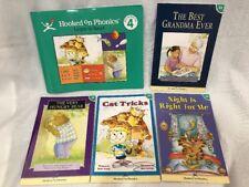 Hooked On Phonics Level 4 Green Reading & Workbook Set Books 23 - 26