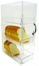 3 Tier Bread Box Cabinet Pantry Storage Container Keeper