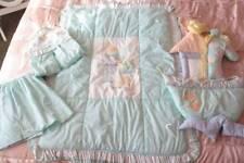 Patsy Aiken Designs Mint Nursery Bedding Comforter Wall Hanging Diaper Skirt L1