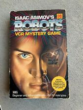 Isaac Asimov's ROBOTS VCR Mystery Game Complete