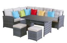 Garten-Lounges Sets aus Rattan