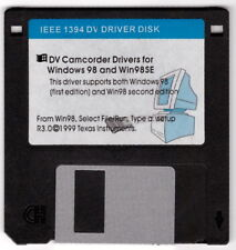 Camcorder Drivers Floppy IEEE 1394 DV Driver Disk DV Windows 98 Win 98SE