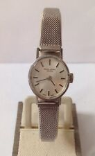 Favre-Leuba Geneve Swiss Made Sliver Tone Wristwatch 550032 27