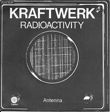 """45 TOURS / 7"""" SINGLE--KRAFTWERK--RADIOACTIVITY / ANTENNA--1976"""
