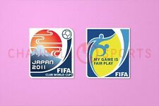 Club world cup japan 2011 + fair play manche soccer patch/badge