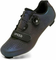 Professional Men Cycling Shoes Spd-SL Cleats Road Bike Athletic Sneakers Peloton