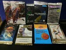 9X Sealed NBA Basketball Packs Ex, Fleer, Skybox,Classic,Premium, Jordan, Kobe