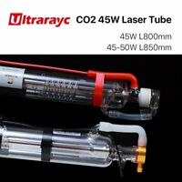45W-50W CO2 Laser Tube Metal Head 800mm Length for Laser Engraver Cutter Machine
