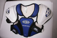 Easton X-Treme Hockey Shoulder Pad - Blue White - Small - OLD STORE STOCK S11