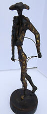 "ORIGINAL 1966  SIMON YBARRA (1913-2003) ""CHICUELINA"" METAL SCULPTURE"