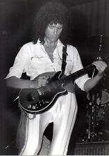 QUEEN PHOTO UNIQUE IMAGE 1984 BRIAN MAY UNRELEASED GEM LONDON RARITY 12INCH B&W