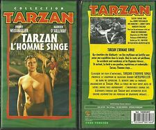 RARE / K7 VIDEO - TARZAN L' HOMME SINGE avec JOHNNY WEISSMULLER