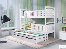 Bett MILO 90x200 Etagenbett Hochbett Öko Doppelstockbett Kinderbett Stockbett