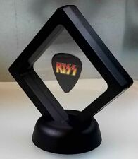 KISS GUITAR PICK DISPLAY FRAMED MUSIC ROCK BAND NOVELTY GIFT SIMMONS FREHLEY
