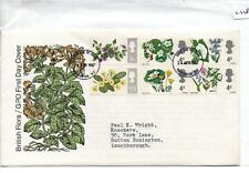 GB - FIRST DAY COVER - FDC - (2118) SPECIALS -1967 - British Wild Flowers
