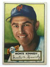 1952 Topps Baseball Card • Monte Kennedy • #124