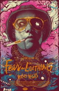 FEAR AND LOATHING IN LAS VEGAS REPLICA 1998 MOVIE POSTER