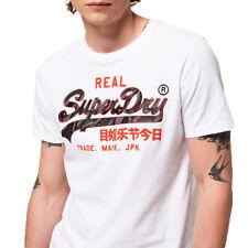 Superdry Herren Vintage Logo Camo Mid Tee T-Shirt M1000057B weiss