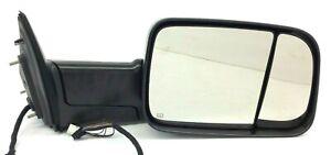 2018 RAM 2500 power fold heat right passenger Side View Trailer Tow Mirror OEM