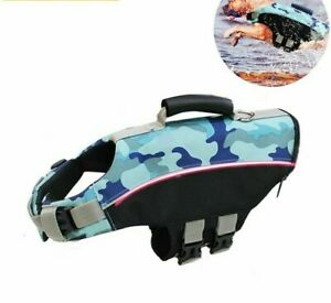 Pet Life Jacket Safety Vest Reflective Clothes Summer Dog Swimming Suit Clothing