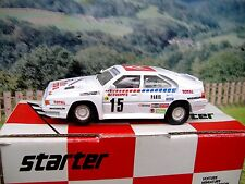 1/43 Starter (France) Citroen BX 4TC Rally Monte Carlo 1986  Resin  Car