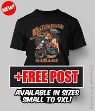 MOTORHEAD HOT ROD GARAGE BIG MENS FUNNY SHIRT 3XL/4XL/5XL/6XL/7XL/8XL/9XL