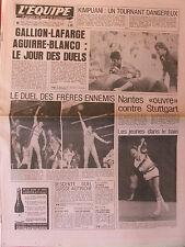 L'Equipe du 5-6/1/1980 - Rugby : jour des duels - ST Français-Villeurbanne -