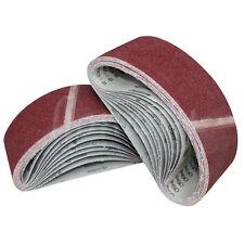 1/3/10pcs 533x75mm Sanding Belt 40/60/80/120 Grit Abrasive Belts Polishing Tool