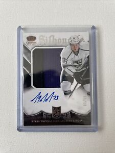 2013-14 Panini Crown Royale Hockey Tyler Toffoli RC Patch Auto # 81/99