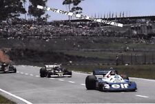9x6 Photograph Peterson/Regazzoni/Nilsson   Brazilian GP Interlagos 1977