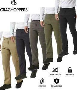 Craghoppers Mens KIWI PRO II Easy Stretch Trousers Golf Work Walking UPF