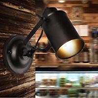Vintage klassisch Wandlampe Wandleuchte Metall Antik-Stil Lampe Leuchte Loft E27