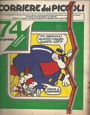 CORRIERE DEI PICCOLI n°  7 del 1979 (con Cap Cuordibue (Groucho), Pimpa,Sclavi)