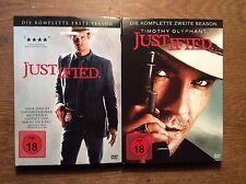 Justified - Die komplette erste + zweite Season / Staffel 1 + 2  [ 6 DVD ] FSK18