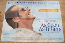 Jack Nicholson  AS GOOD AS IT GETS(1997)Original movie poster UK POST FREE