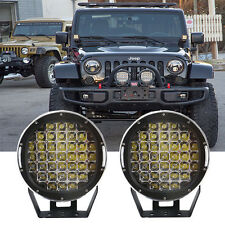 2X111W Round 9 Inch Led Driving Light Jeep Offroad Arb Replace Front Bumper Ford