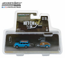 Greenlight 1:64 Hitch & Tow 14 1961 VW Type 3 and Teardrop Trailer
